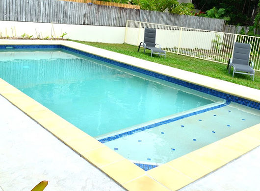 Port Douglas Beach House large pool with swim out